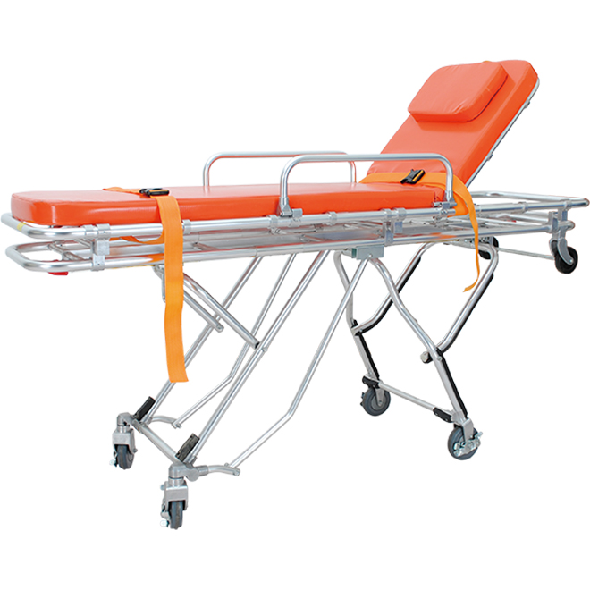 SKB039(F) Folding Ambulance Stretcher With Trendelenburg Function