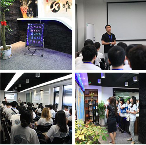 Xiaoshan Network Chamber Of Commerce Visit Our Company