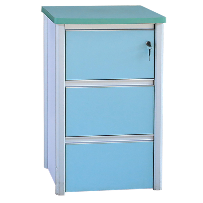 SKS021 Hospital Bed Medical Metal ABS Cabinet