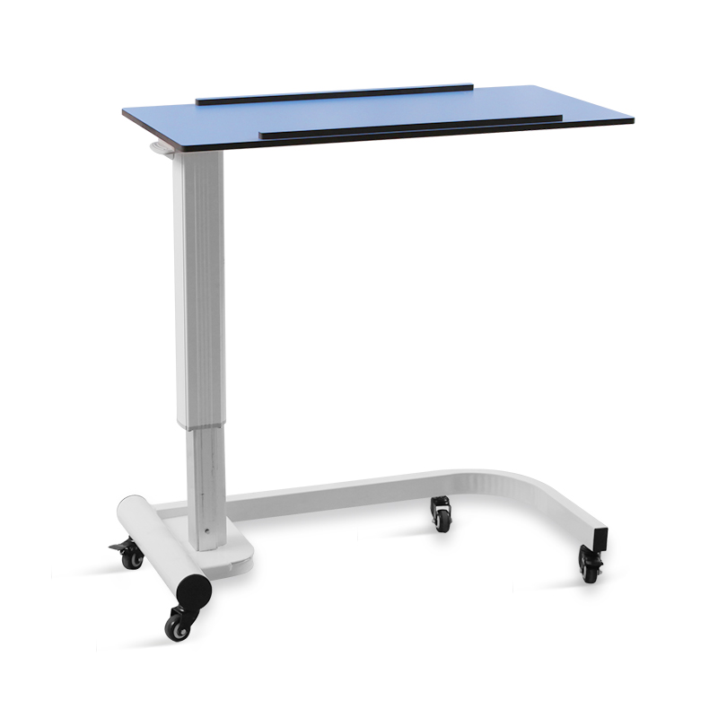 SKH242 China Manufacturer Adjustable Custom Hospital Bedside Dining Folding Table