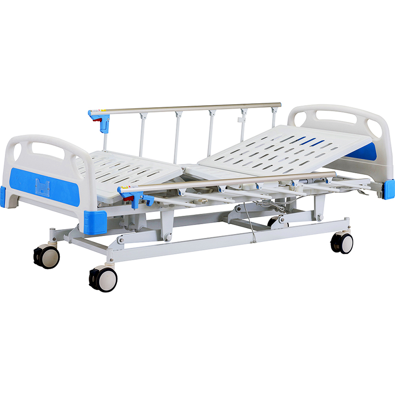 A6w Electric Medical Bed With Foldable Side Rail