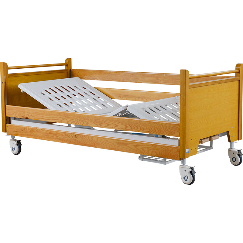 H2h Wooden Manual Home Beds