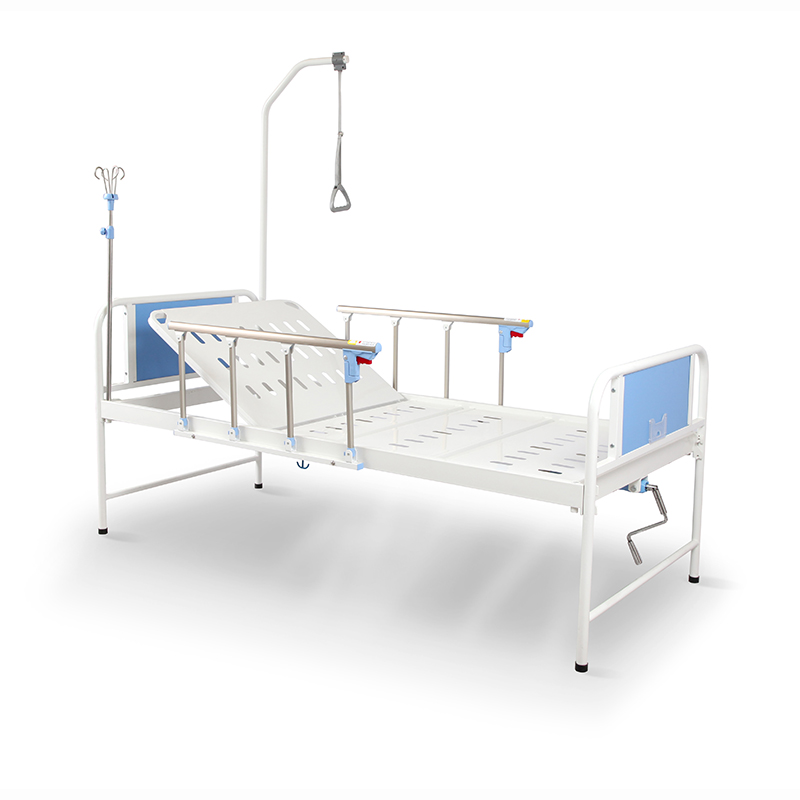 R1k0s Saikang One Cranks Hospital Manual Patient Bed