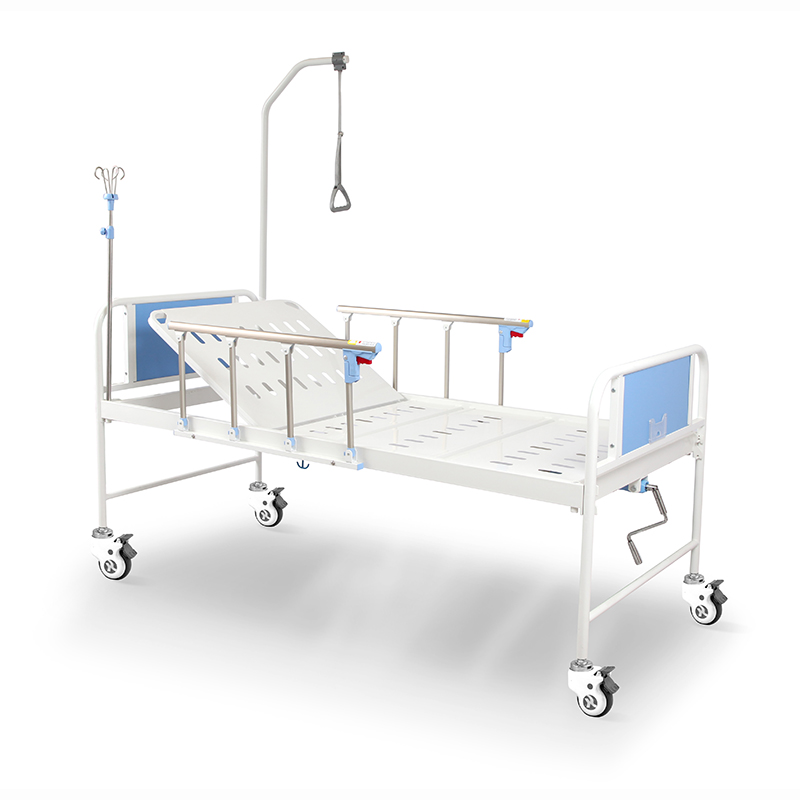 R1k5s Saikang Manual Hospital Medical Crank Bed