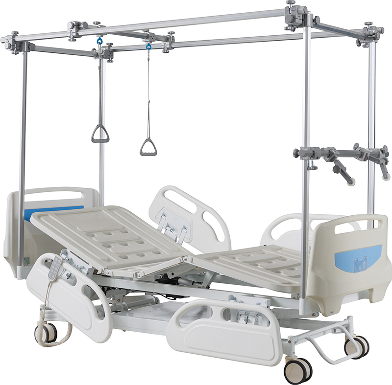 GB8c Electric Orthopedic Physiotherapy Traction Bed
