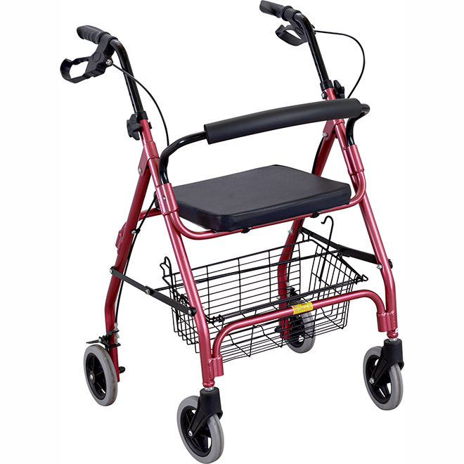 SKE220 Aluminium Alloy Rollator With Wheels
