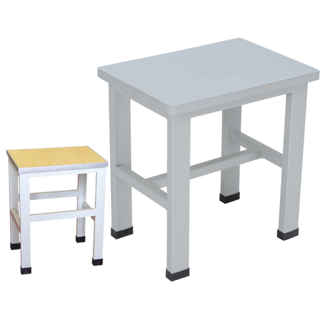 SKE019 Metal Small Square Stool
