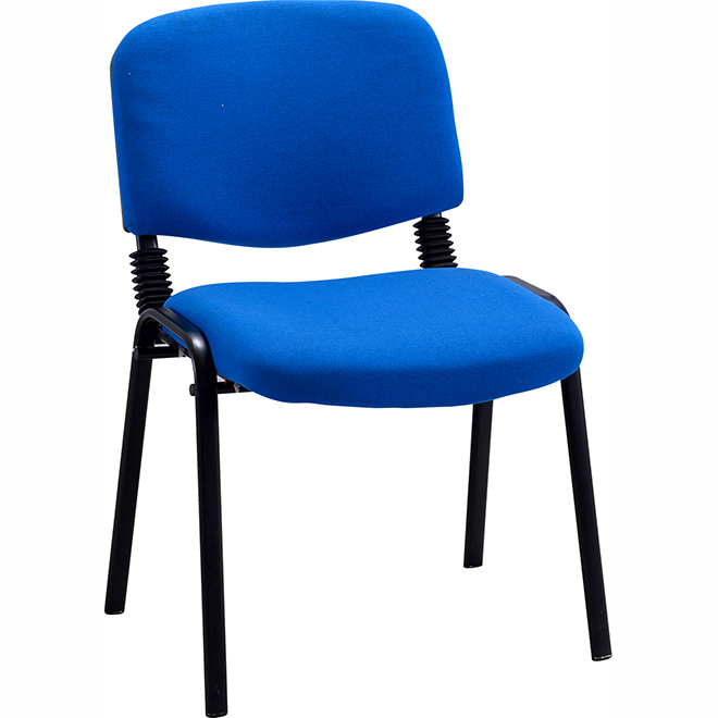 SKE052 Blue Metal Frame Office Chair
