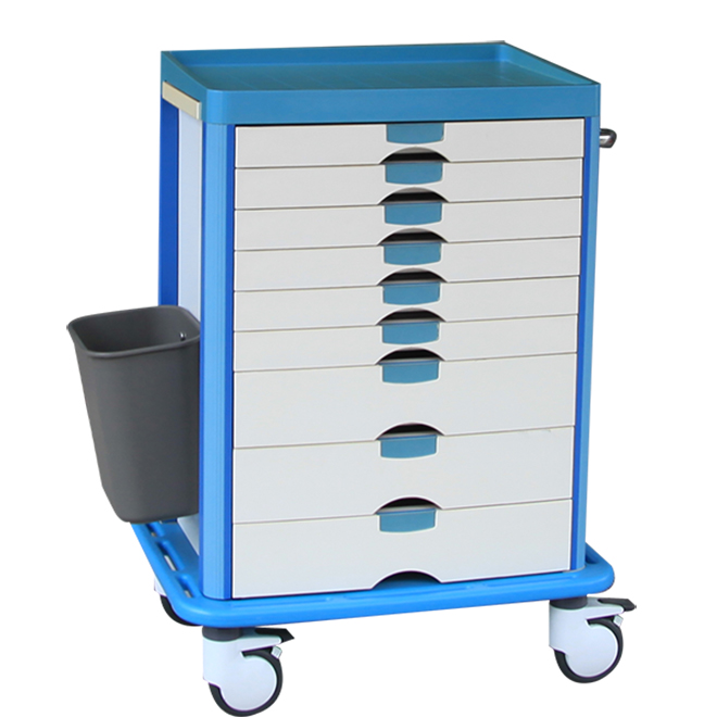 SKR031 Medical Instrument Nursing Trolley
