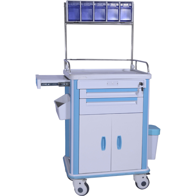SKR-AT722 ABS Hospital Emergency Trolleys