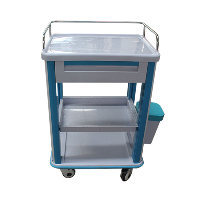 SKR-CT721 ABS Medical Clinic Trolley