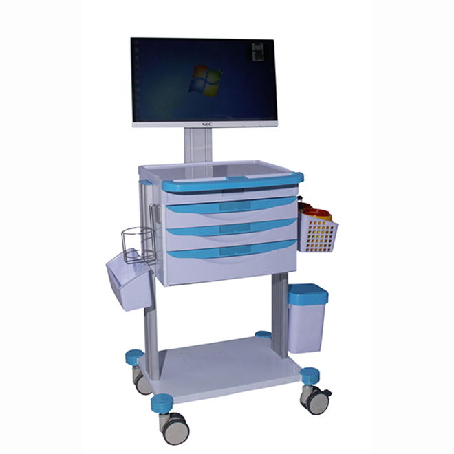 SKR023-WT Medical Nursing Clinical Drugs Utility Trolley