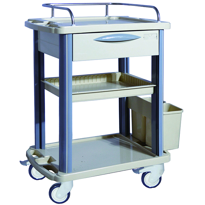 SKR-CT311 ABS Medical Device Trolley