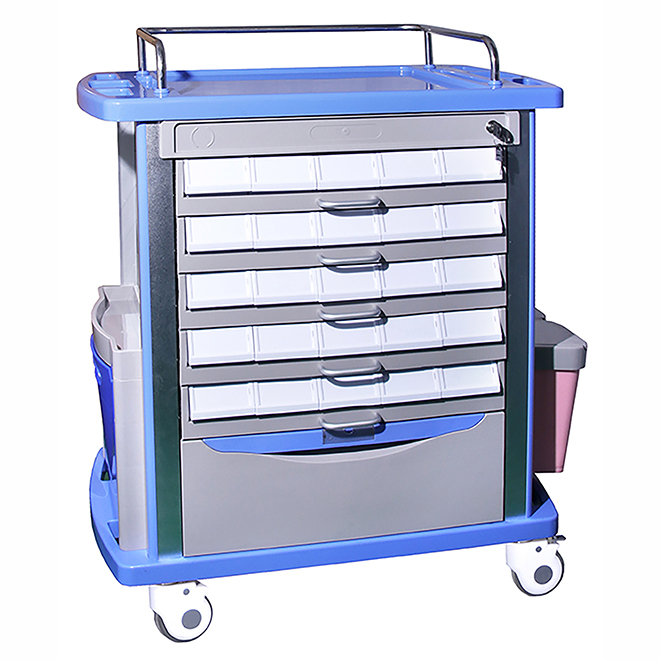 SKR054-MT ABS Medicine Trolley Nursing Trolley