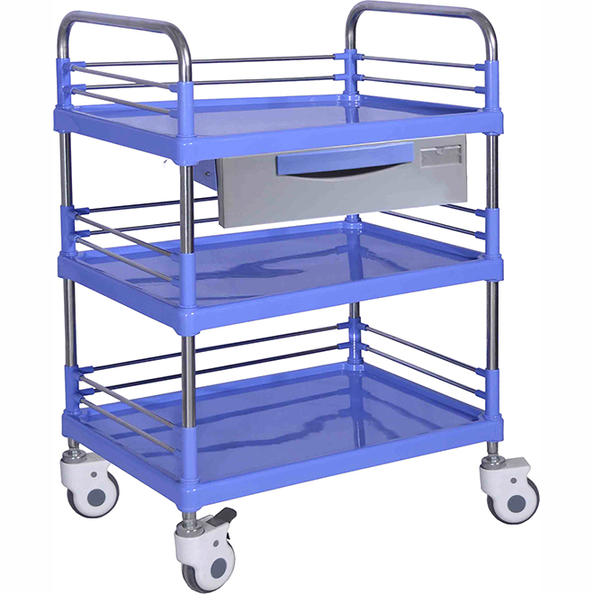SKR008 ABS  Clinical Utility Nursing Trolley