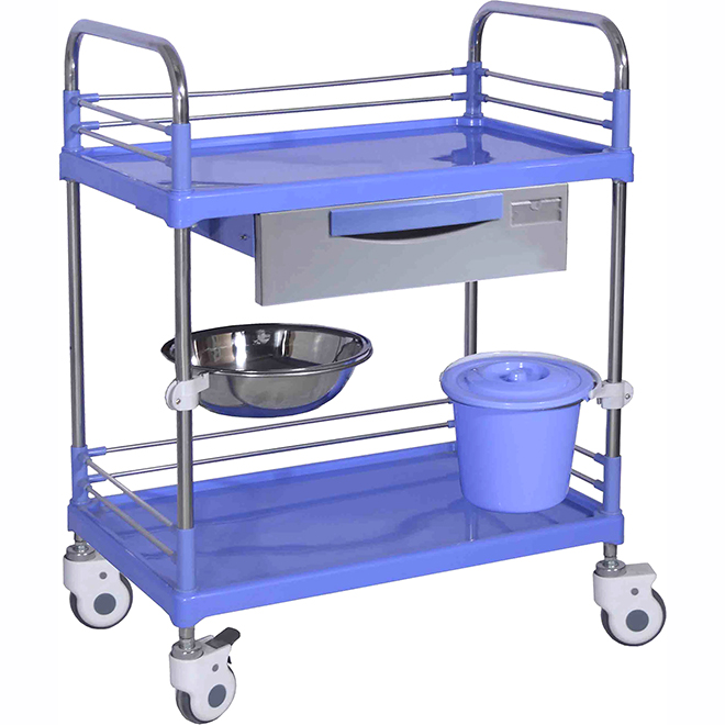 SKR007 Hospital Treatment Drugs Nursing Trolley