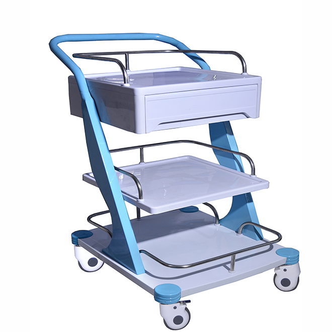 SKR026 Emergency Instrument Nursing Trolley