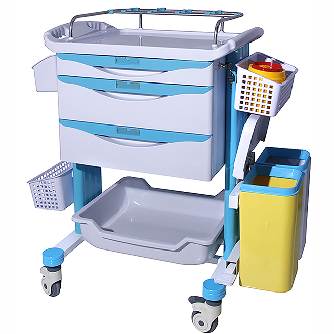 SKR-ET223 Hospital ABS Emergency Trolleys