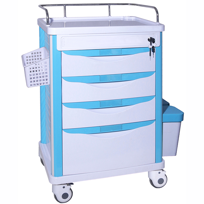 SKR-MT121 ABS Workstation Medical Trolley Cart