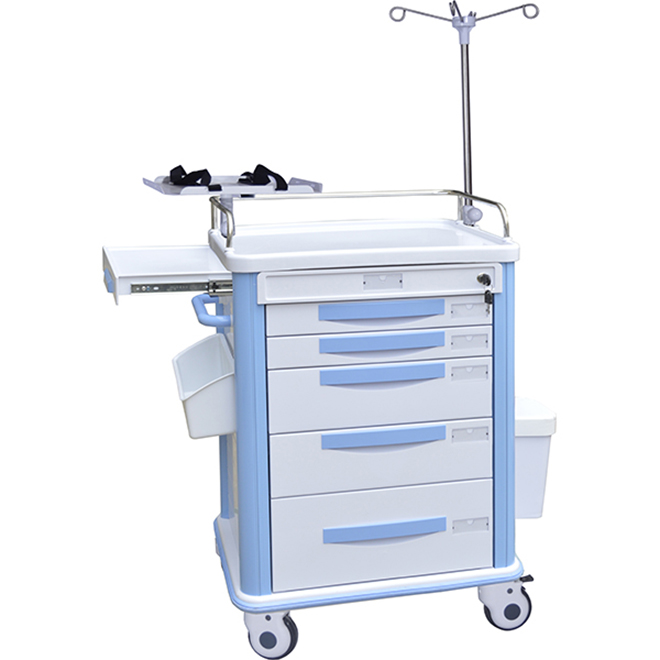 SKR039-ET ABS Nursing Trolley
