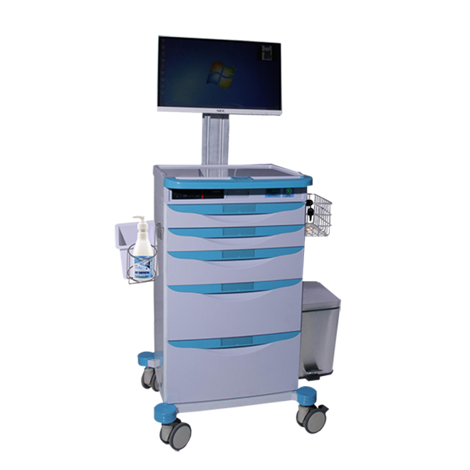 SKR024-WT Nursing Instrument  Medical Trolley