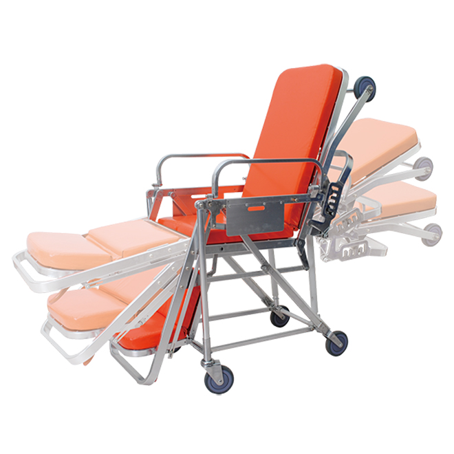 SKB039(E) Emergency Patient Trolley