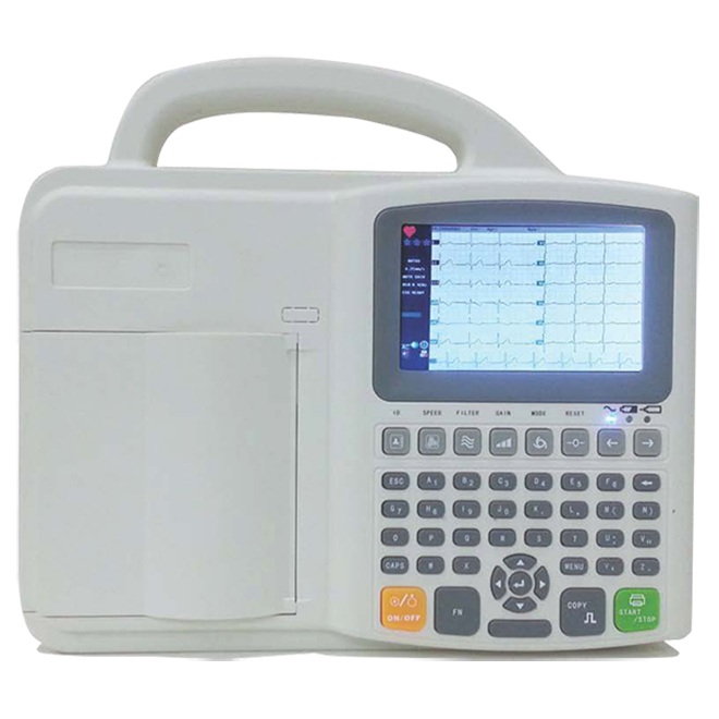 SK-EM102 ECG With Touch Screen
